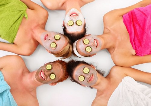 Treat your friends to a day of pampering
