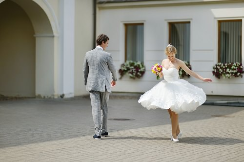 You could be much more confident with two wedding dresses