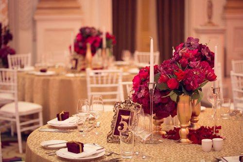 Ask wedding florist to see custom samples