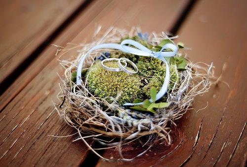 Birds Nests - rustic wedding ideas