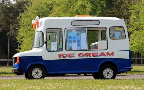 get an wedding ice cream truck