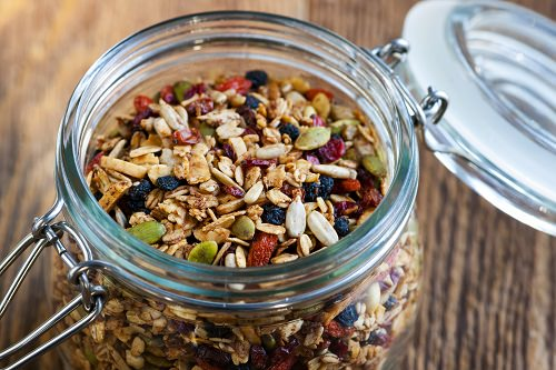Jars of your own signature granola