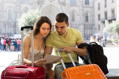 Luggage for your honeymoon