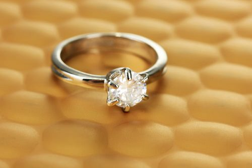 Make sure that your ring is sparkling clean