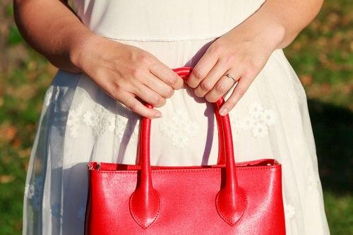 scavenger hunt with a handbag