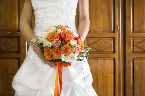Fall Finery Halloween Wedding