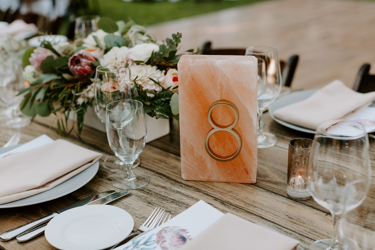 10 Unique Ways to Display Wedding Table Numbers