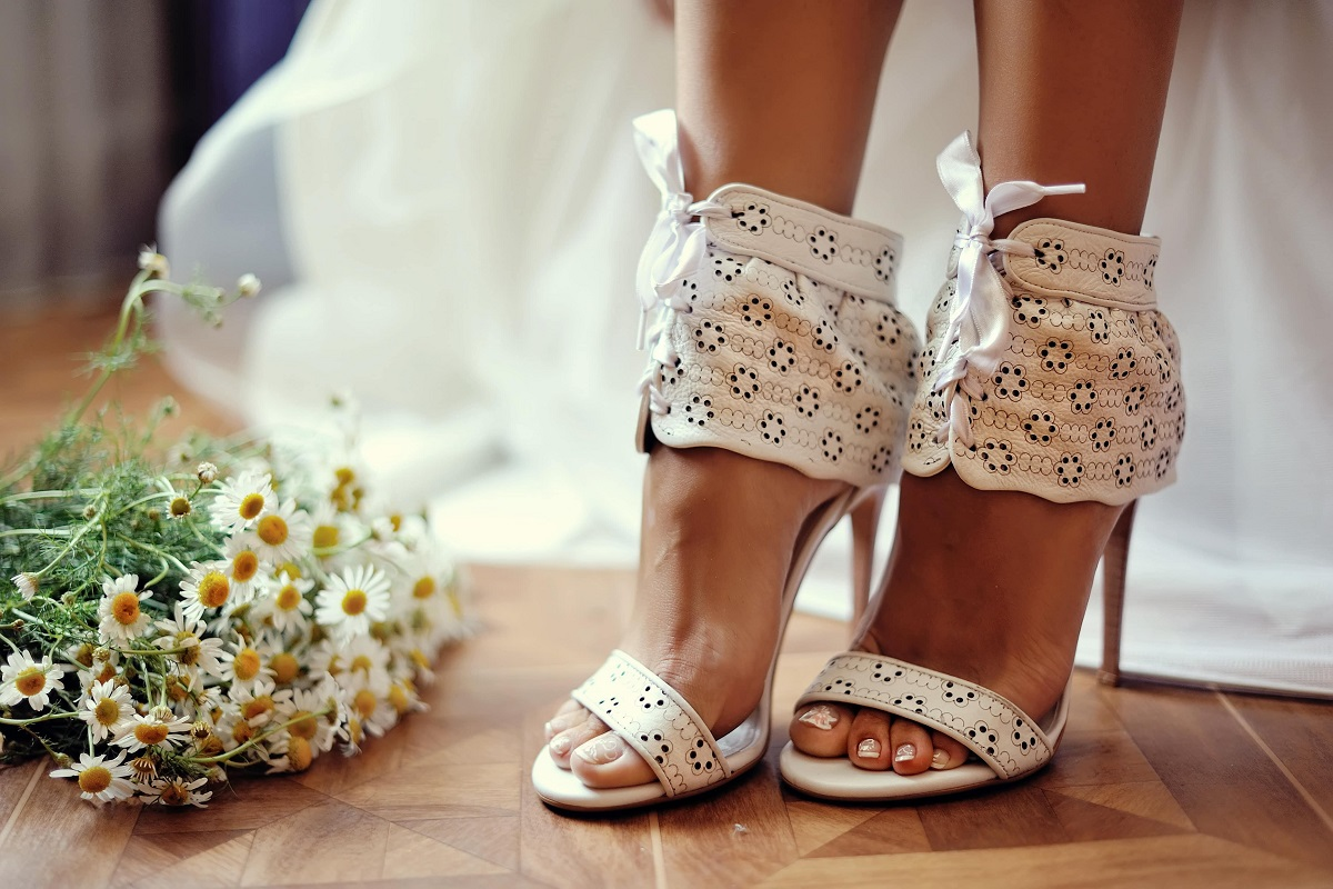 Bridal Tips: The Best Shoes to Wear to Your Summer Wedding