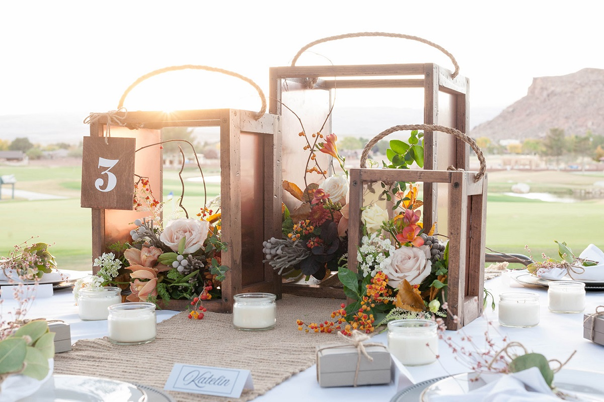 10 Rustic Wedding Centerpieces