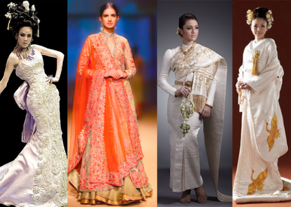 Asian Wedding Dress Styles