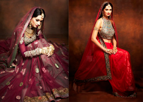 Bright Indian dresses