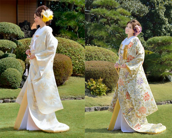 Japanese wedding dress