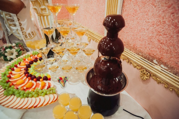 Chocolate and champagne party