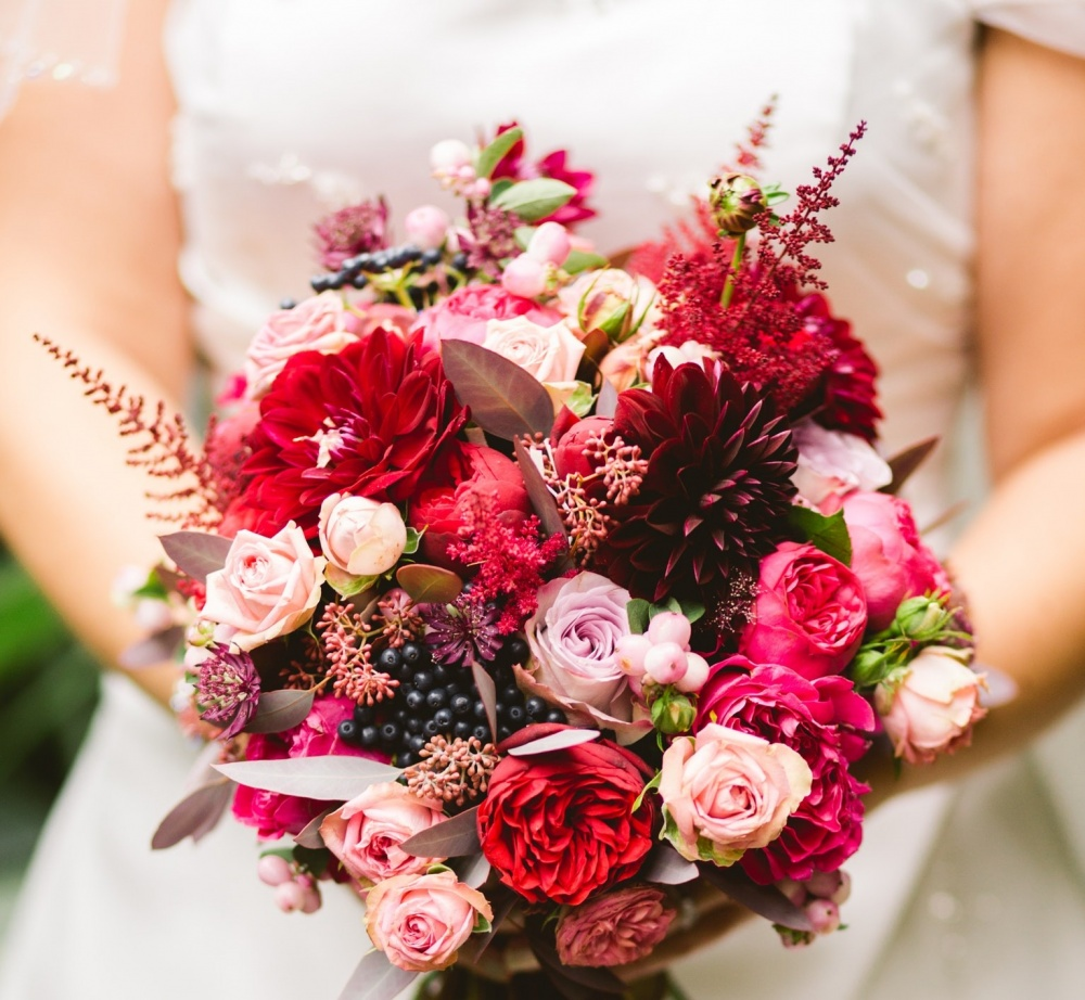 10 Falls Hottest Wedding Color Schemes