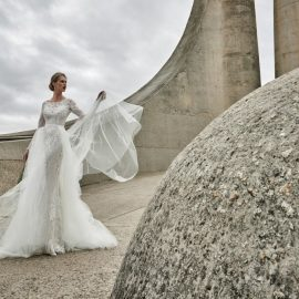 Elbeth Gillis' dazzling new collection wedding dresses Desire