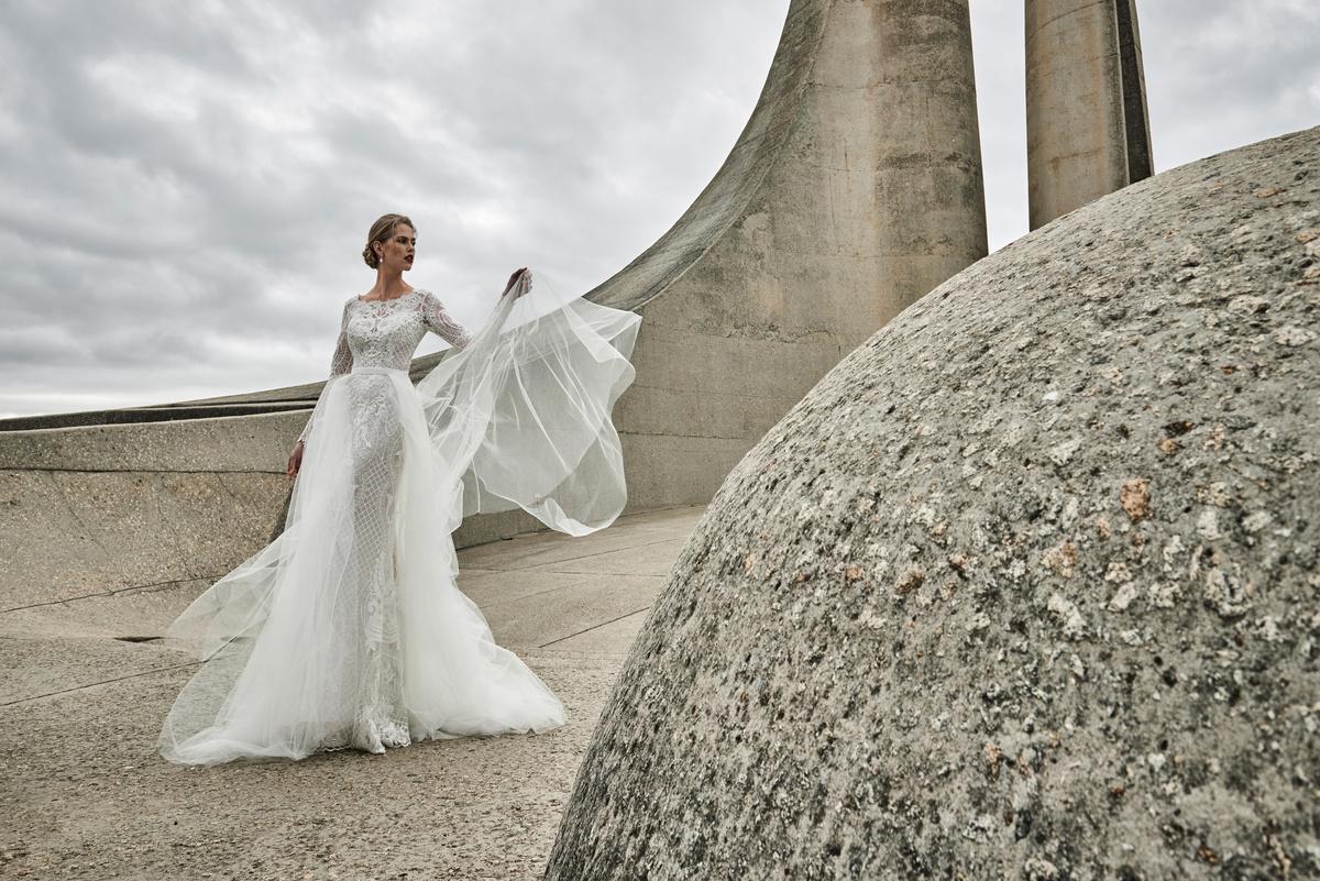 Elbeth Gillis' dazzling new collection wedding dresses Desire