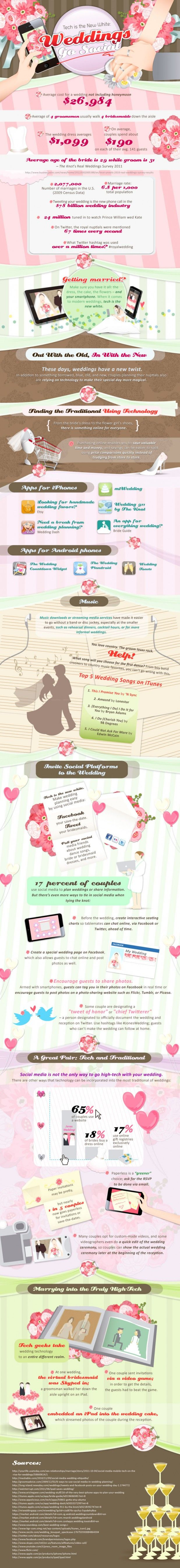 The Best Wedding Infographic Ever