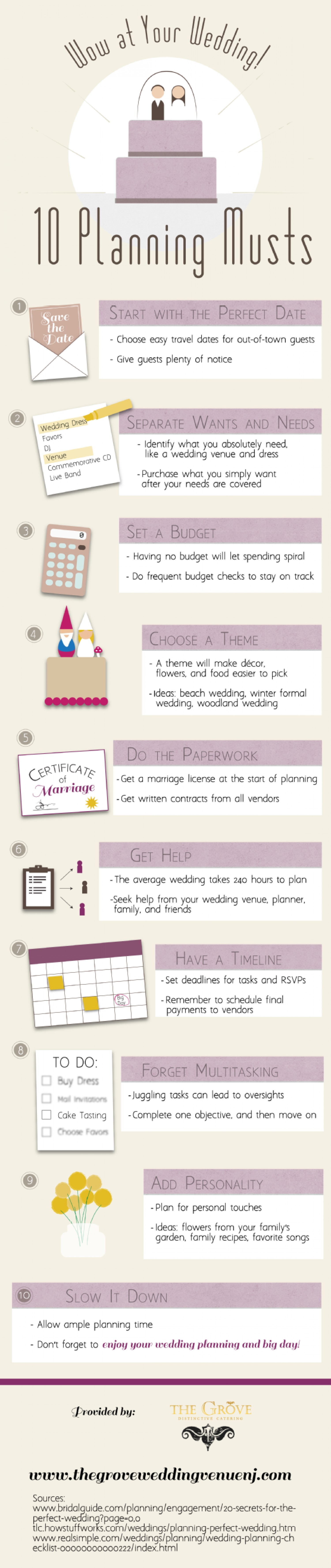 Wow At Your Wedding 10 Planning Musts